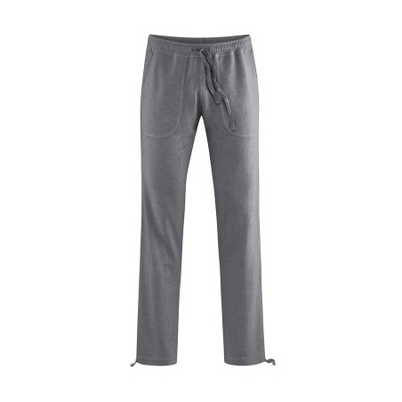 Pantalon détente en chanvre Gris