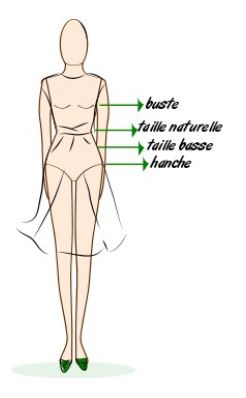 buste taille femme