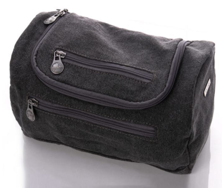 Toiletry hemp bag